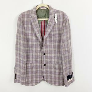 NEW Brooks Brothers Mens Linen Blazer Jacket